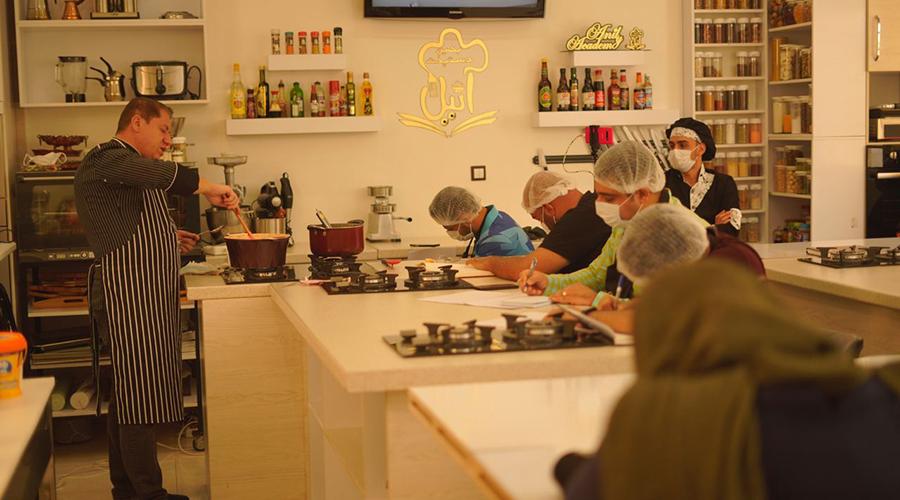 آموزش آشپزی توسط استاد حسام حسینی | صفر تا صد حسام حسینی