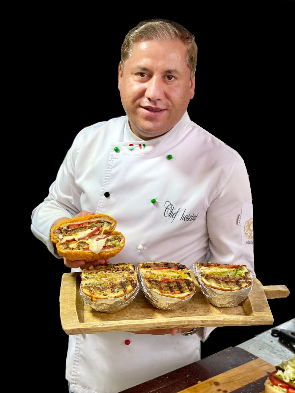 سر آشپز حسام حسینی | chef hesam hoseini | صفر تا صد فست فود
